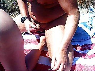 spainish beach fuck