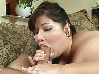 Pretty Asian BBW Gets Fucked