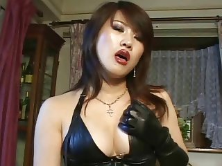 Japanese strapon mistress