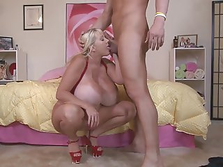 Big Titty White Bitch Kayla getting Fucked hard on webcam