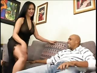 Asing cockslut slurping cum part4