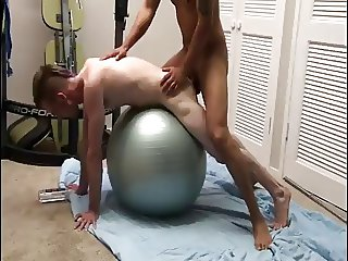 Interracial Sex on Swedish ball
