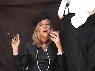 Crystal 039 s Smoking Blowjob with holder