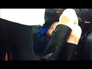 Public Transport Upskirt Sexy Boots