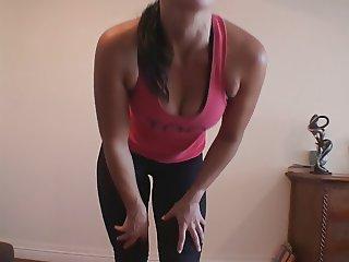 Cum To My Stripping Posing