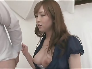 ATFB 028 Japanese penis smelling and blowjob 1 of 3