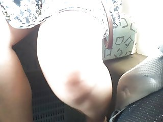 Upskirt in Bus PT2