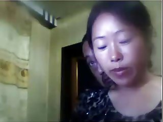 Chinese husband and wife let me watch