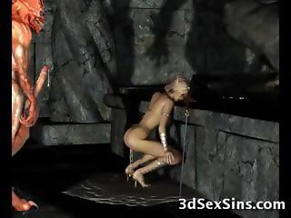 Evil Creatures Fuck 3D Elf Girls
