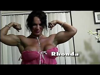 Mature muscle woman Rhonda Lee