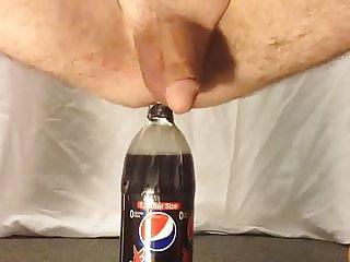1.5 liter bottle male anal insertion