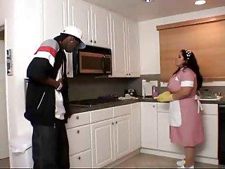 Big Booty Latina Maid Getting Fucked
