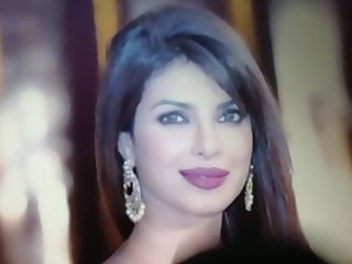 Beautiful face of Priyanka Chopra cummed