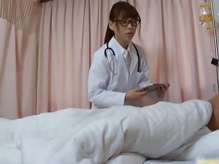 Super sexy Japanese nurses sucking