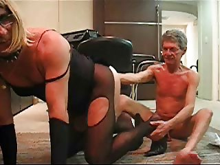 PATRICIA JOHNES SISSY CROSSDRESSER FISTED