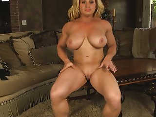 Joanna Big clit masturbation