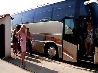 Slut Bus ultimate sex party part I
