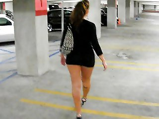 parking microskirt walk