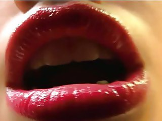 Lipstick tease