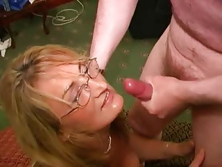 British Whore Mother Loves Cum Facials Crystal 2
