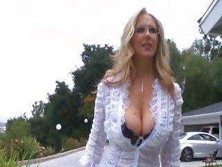 Blonde pussy like big black cocks