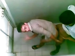 Arab Boys Public Toilet
