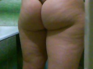 wife string voyeur ass