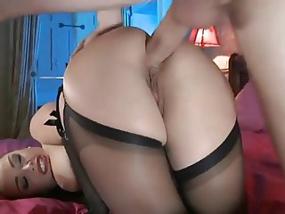 Anal for hot brunette
