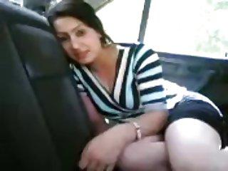 iranin in car