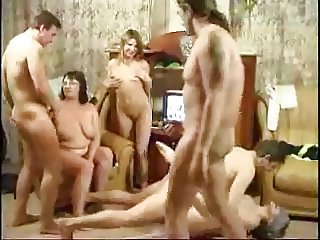 Russian family having an orgy