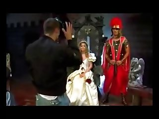Queen Dora Fucking her Guards. DP Anal