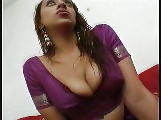 Indian Girl With Big Natural Tits Open Her Legs