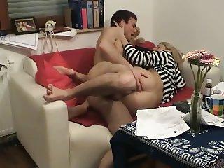 Horny Slut cheating wife riding lover 039 s cock on hidden cam 2