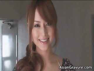 Sexy cute face asian hot body babe part4