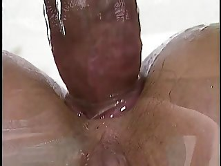 classic anal by swimming pool