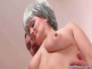 Big boobed nasty blonde MILF whore part5