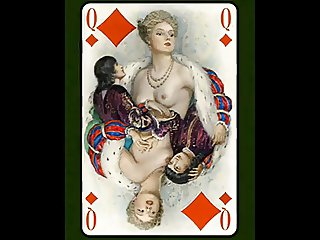 Le Florentin Erotic Playing Cards of Paul Emile Becat