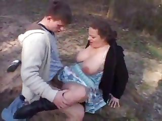 Young Fucking Busty Outdoor By TROC