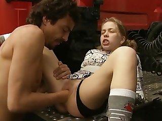 Young truckstop slut
