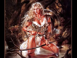 Magical Fantasy Art Celtic Female Warriors