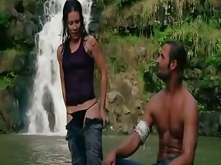 Evangeline Lilly LOST slo mo