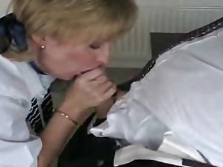 mature British blonde Charlotte schoolgirl roleplay