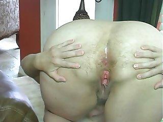 mature hairy big fart woman