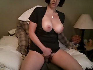 WIFE SHOWS OFF 004