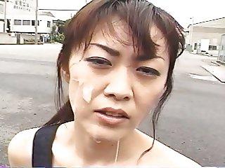 Yukari Sakurada Cum Walk 3