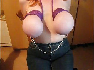 tied tits 13 g123t more fat pig whore