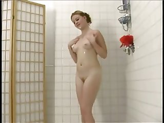 Furry Redhead Cherry Soaps Up Shaves and Showers