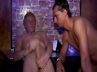 The party is cumming to and end as guys blow their loads