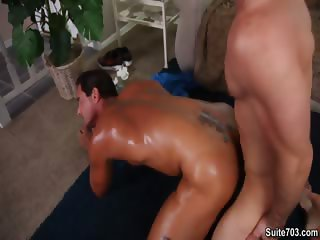 Alex Cox Trstan Jaxx get hot after a nice Jog