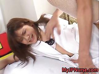 Ai Niimura hot real asian nurse enjoys her part1